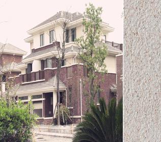 天然真石漆案例-上海保利十二橡树庄园