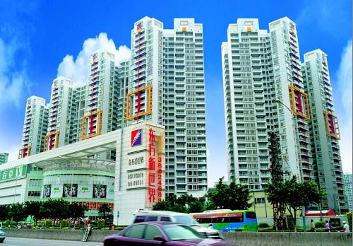 广州东方新世界-美联涂料工程案例