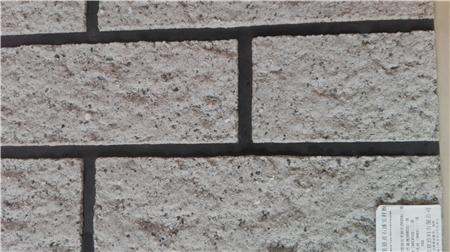 天然真石漆100%仿砖效果